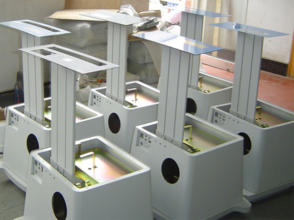 铝合金设备喷塑